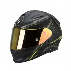 Scorpion EXO-510 Air Helm Sync Matte Black-Neon Yellow
