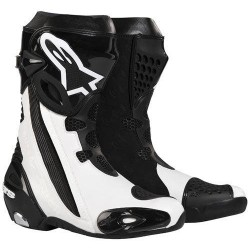 Alpinestars Super Tech R Zwart/Wit / Laarzen